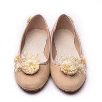 Filigree Shoe Clip with Em Shoe